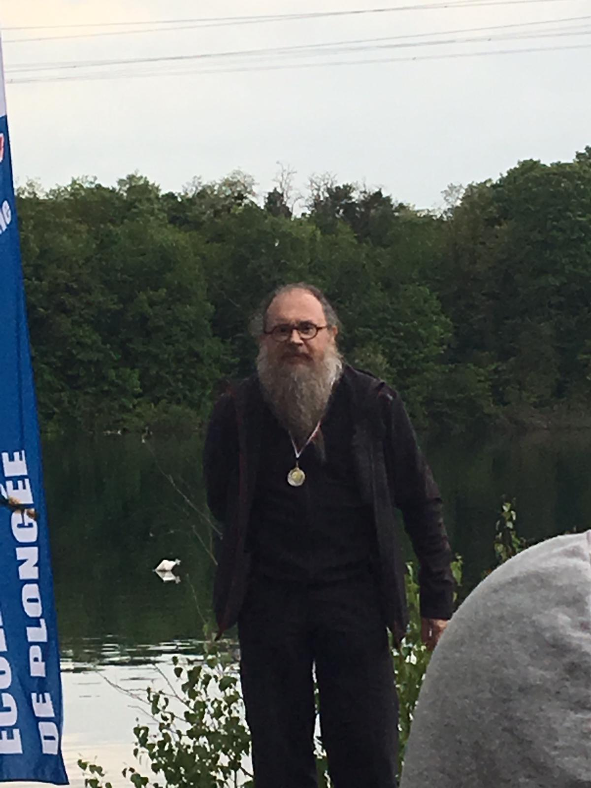Christophe médaillé