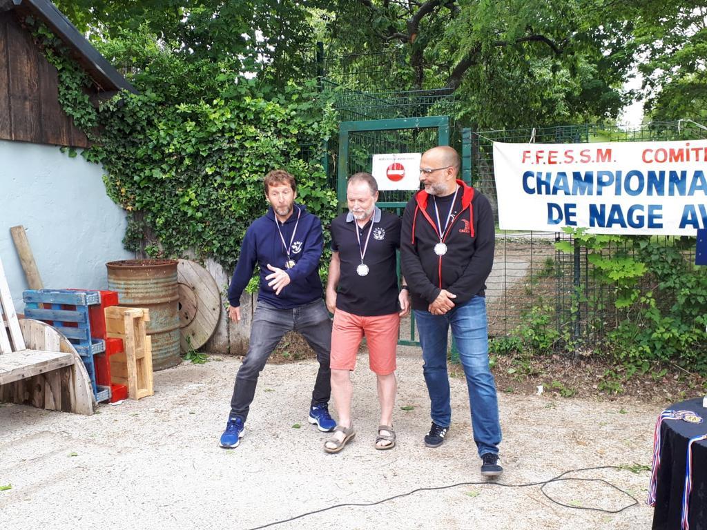 Gilles médaille d'argent