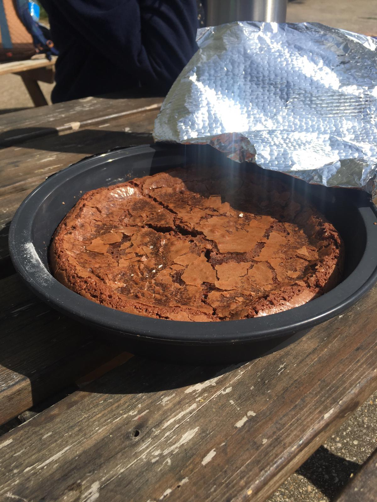 Un fondant au chocolat