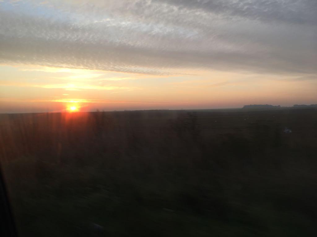 Le soleil nous suit